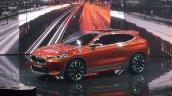 BMW X2 concept profile at 2016 Paris Motor Show
