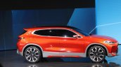 BMW X2 concept side at 2016 Paris Motor Show