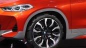 BMW X2 concept wheel at 2016 Paris Motor Show