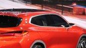 BMW X2 concept window line at 2016 Paris Motor Show