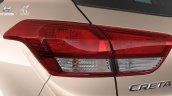 Brazilian-spec 2017 Hyundai Creta tail lamp