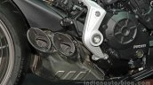 Ducati XDiavel engine and exhaust