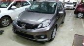 Honda Brio facelift VXMT India spied