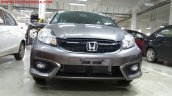 Honda Brio facelift VXMT front end India spied