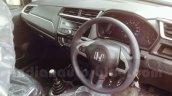 Honda Brio interior facelift arrives at Indian dealership ahead of launch