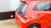 Honda Brio rear end facelift arrives at Indian dealership ahead of launch