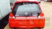 Honda Brio rear facelift arrives at Indian dealership ahead of launch