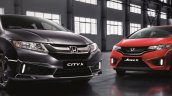 Honda City X, Honda Jazz X limited editions front launched