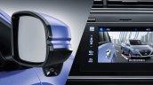 Honda Gienia blind spot monitoring system