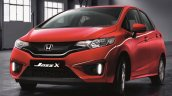 Honda Jazz X limited edition front launched