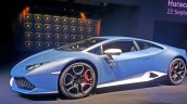 Lamborghini Huracan Avio front three quarter launched