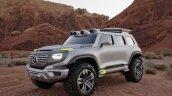 Mercedes-Benz Vision Ener-G-Force concept front three quarters left side