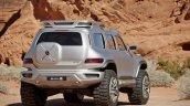 Mercedes-Benz Vision Ener-G-Force concept rear three quarters