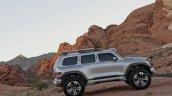 Mercedes-Benz Vision Ener-G-Force concept side profile