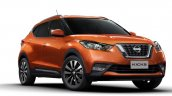 Nissan Kicks front three quarters