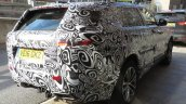 Range Rover Sport Coupe rear three quarters spy shot
