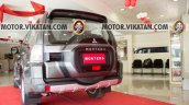 Relaunched Mitsubshi Montero rear three quarter In Images
