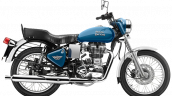 Royal Enfield Bullet 350 ES Blue press image