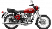 Royal Enfield Bullet 350 ES Maroon press image