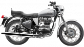Royal Enfield Bullet 350 ES Silver press image