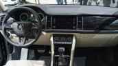 Skoda Kodiaq dashboard unveiled in Paris