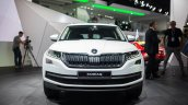 Skoda Kodiaq front unveiled in Paris