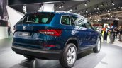 Skoda Kodiaq rear quarter unveiled in Paris