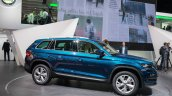 Skoda Kodiaq side unveiled in Paris
