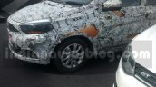 Tata Kite 5 compact sedan front end spied on tests ahead of festive season launch