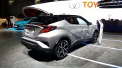 Toyota C-HR rear three quarters right side