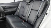 Toyota Corolla Dynamic Edition rear cabin press image
