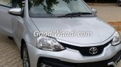 Toyota Etios Liva facelift front India leaked