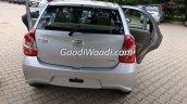 Toyota Etios Liva facelift rear India leaked