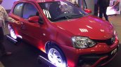 Toyota Etios 'Ready' front three quarter special edition