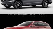 Volvo V90 Cross Country vs Mercedes E-Class All-Terrain front three quarter