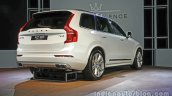 Volvo XC90 Excellence PHEV rear three quarter launched