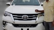 2016 Toyota Fortuner front reaches dealerships