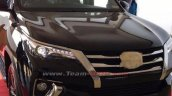 2016 Toyota Fortuner headlight Ahmedabad spied