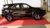 2016 Toyota Fortuner side Ahmedabad spied