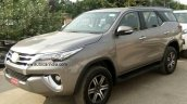 2016 Toyota Fortuner spied uncamouflaged India