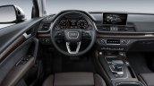 2017 Audi Q5 interior dashboard driver side
