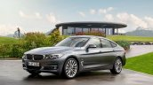 2017 BMW 3 Series Gran Turismo (facelift) front three quarters