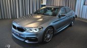 2017 BMW 5 Series (BMW G30) front three quarters left side