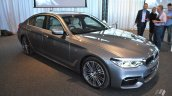 2017 BMW 5 Series (BMW G30) front three quarters