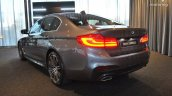 2017 BMW 5 Series (BMW G30) rear three quarters left side