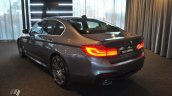 2017 BMW 5 Series (BMW G30) rear three quarters