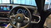 2017 BMW 5 Series (BMW G30) steering wheel