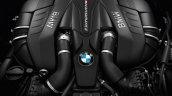 2017 BMW 5 Series M550i xDrive engine