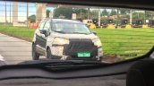 2017 Ford EcoSport (facelift) front three quarters spy shot