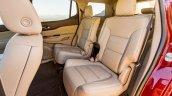 2017 GMC Acadia Denali rear seats